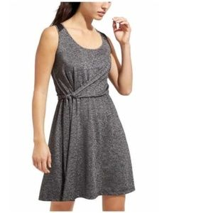 Athleta Sweet Saturday Wrap Dress Gray XL